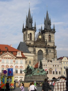Tyn Church in Old Town Square