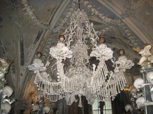 Sedlec Bone Church near Kutna Hora